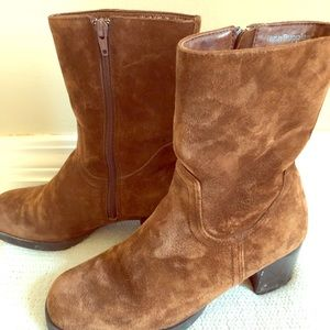Hush Puppies Faux suede boots